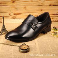 【伙拼】男士皮鞋韩版英伦时尚潮流板鞋牛皮低帮单鞋正装鞋贴牌厂