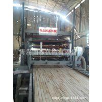 四面侧压细木工板热压机成套设备生产厂青岛国森机械