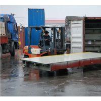 18米出口式汽车衡价格/100吨外贸地磅/三合