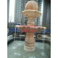 曲阳大刚石材园林景观喷泉 石雕流水池子风水球广场大型雕刻 摆件 欧式喷泉