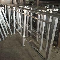 厂家直销 铝合金交通安全护栏 铝合金栏杆定做 湛恒焊接加工