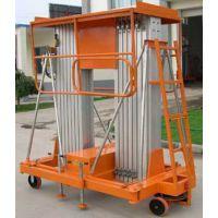 济南大财运家用迷你升降机 10米单桅柱升降机 铝合金升降机 电动高空作业平台