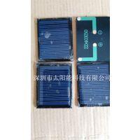 中德太阳能供应太阳能玩具草坪灯滴胶充电板5v50ma,家用屋顶发电系统
