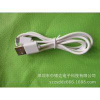 新款移动电源专用高档套壳数据线    瓷白色