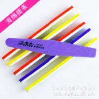 美甲用专业 艺蔻海棉挫条 十二色 指甲修饰用具