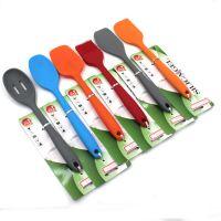 创意厨房小工具实用硅胶汤勺 不粘锅厨用烹饪工具