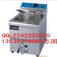 【新粤海】EF-12L台式单缸单筛电炸炉 油炸锅 炸薯条机 电炸锅
