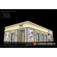 展会展厅高度一般多高、房展会展厅施工、窗帘展厅设计效果图