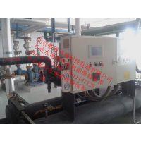 沧州宏力水源热泵机组冷凝器进水维修