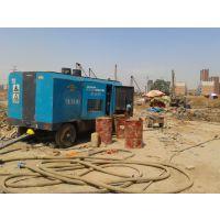 供应杭州哪里有钻井用护坡光伏用柴油空压机出租租赁
