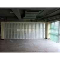 供应PVC折叠门吊趟门塑料门 亚克力玻璃折叠门厨卫门商铺推拉门