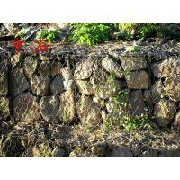 边坡防护装石头笼子覆塑 河堤加固装石头铁丝笼