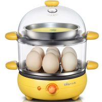 批发Bear/小熊ZDQ-219双层不锈钢蒸蛋器 多功能自动断电 煎煮蛋器