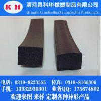 厂家供应 硅胶发泡密封条 耐高温硅胶条 PVC密封条 三元乙丙橡胶条