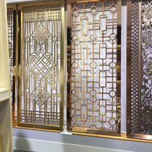 满焊不锈钢屏风镜面钛金屏风 厂家定制价格便宜
