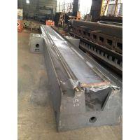 厂家直销优质树脂砂造型大型铸件、机床铸件