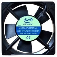 工业风扇KFL12025双滚珠轴承/空气净化器使用低噪音散热风扇