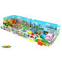 开心球游乐pvc地垫 情景小镇 模拟生活馆 儿童职业体验馆