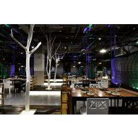 成都餐饮设计/品牌火锅店装修设计/专业设计公司/工业风餐厅设计
