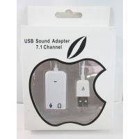 厂家直供声卡批发USB7.1原装CM108芯片苹果声卡