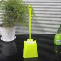 家庭卫浴洁具批发 Y-7701 塑料马桶刷带底厕所刷 清洁马桶刷