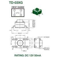 轻触开关 按键开关 TD-03XG