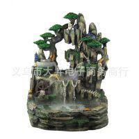 新品上市 礼品摆件 假山流水工艺品 室内水景喷泉免费代理加盟