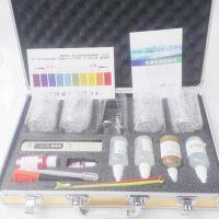 学优净水器示范工具套装水质检测工具箱检测仪器试剂8个玻璃杯