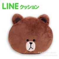来自星星的你同款抱枕靠垫布朗熊可妮兔子毛绒玩具公仔生日礼物