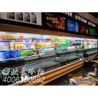 成都郫县水立方氧吧大型酒水饮料风幕柜20米冷藏工程图