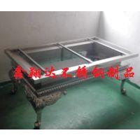 鑫翔达古典不锈钢茶几定制厂家直销