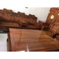 红木家具哪里名琢世家刺猬紫檀 打造家具产品