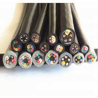 供应上海奕柔耐弯曲柔性、 抗裂拖链电缆 拖链电缆规格型号