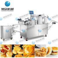 酥式月饼机旭众SZ-09C三段压面苏式月饼机,多功能酥饼机