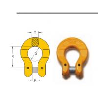 供应YOKE进口索具配件合金钢欧姆环欧米茄链环8-018