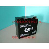 GMP蓄电池12V40AH型号PM40-12现货价格