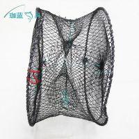 渔具批发,折叠板网虾笼,螃蟹笼弹簧笼地笼,垂钓