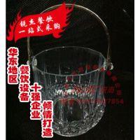 疯抢!高档亚克力 水晶冰桶 透明冰桶 香槟桶 带手提冰桶
