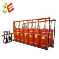 150L管网七氟丙烷灭火 管网式七氟丙烷 机房气体灭火设备自动灭火