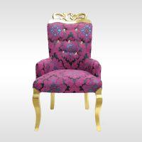 厂家直销 餐厅家具欧式餐椅书椅酒店实木椅子雕花椅子扶手厂家