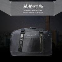 2015商务时尚包 炫酷黑色男包 出游耐用包 行李包 单肩大容量包包