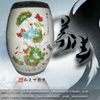 定制陶瓷养生瓮 养生瓮生产厂家 圣菲活瓷能量缸 活磁能量养生樽