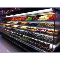 立式风冷水果保鲜柜 连锁超市低温奶展示柜 恩施KTV风幕柜定做厂家