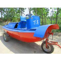 灵武割草船|除草船找万英全液压式小型水面割草船