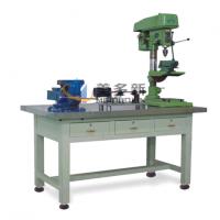 不锈钢钳工工作台不锈钢操作台不锈钢面工作台台钻安装台三抽