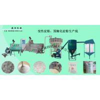 济南专业加工生产预糊化淀粉设备厂家
