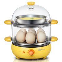 正品小熊煮蛋器 ZDQ-2191 双层 多功能煮蛋器 不锈钢蒸碗 团购