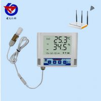 WIFI网络型温湿度变送记录仪外置防水探头