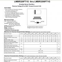 LRC肖特基LMBR320FT1G LMBR330FT1G LMBR340FT1G