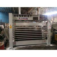 八层热压机 钢木门压平定型 门厚度定位器 锅炉加热